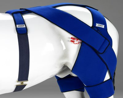 Equine stifle thermic wrap